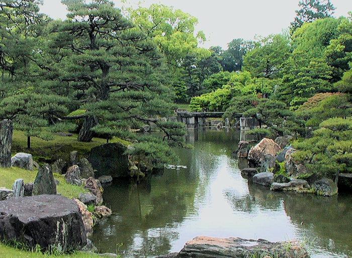 Kyoto nijo castle for Teich design nyc