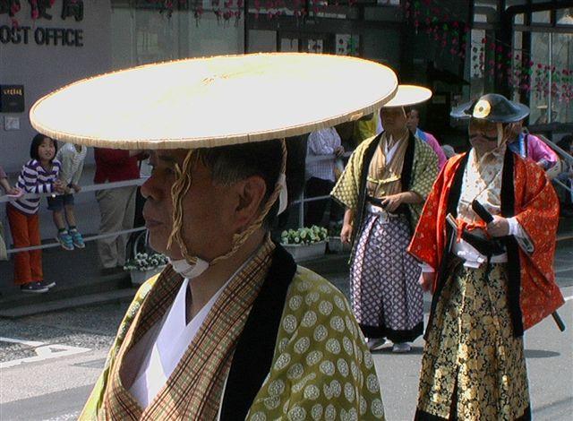Taketa Japan  city images : Der Fürst musste auch laufen. Eine sehr einfache Kopfbedeckung ...